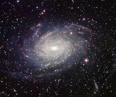 Imagen de la galaxia NGC 6744, similar a la Vía Láctea, tomada por el Wide Field Imager