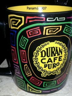 Panama coffee mug