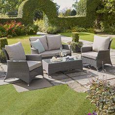 Canterbury Sofa Garden Furniture Set | Wyevale Garden Centres