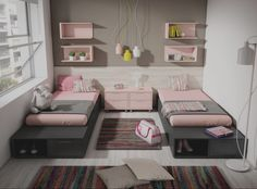 Teen girl bedrooms, jump to this info for that complete simple bedroom makeover, example number 9708103540 Cute Teen Rooms, Bedroom Decor For Teen Girls, Teen Girl Rooms, Teenage Girl Bedrooms, Girl Bedroom Designs, Shared Bedrooms, Small Room Bedroom, Bedroom Ideas, Small Rooms