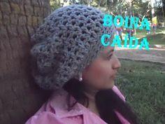 Boina LUCY - Tejida a gancho muy fácil y rápida - Tejiendo con LAURA CEPEDA - YouTube