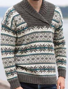 ISSUU - Rauma Design Voksen 222R by Rauma Ullvarefabrikk Knitwear Fashion, Knit Fashion, Norwegian Clothing, Men's Sweaters, Fair Isle Knitting, Winter Outfits, Clothes, Design, Moda Masculina