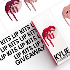 The #KylieLipKit is your secret weapon to create the perfect 'Kylie Lip.' Each Lip Kit comes with a Matte Liquid Lipstick and matching Lip Liner.