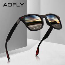 AOFLY Clássico DESIGN DA MARCA Óculos Polarizados Óculos de Sol Das  Mulheres Dos Homens de Condução 1631a963a2