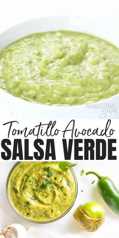 Authentic Mexican Recipes, Mexican Salsa Recipes, Green Salsa Recipes, Creamy Green Salsa Recipe, Mexican Salsa Verde, Guatemalan Recipes, Appetizer Recipes, Keto Recipes, Vegetarian Recipes