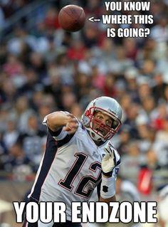 End zone Tom Brady Patriots Memes, Nfl Memes, Patriots Fans, Football Memes, Sports Memes, Nfl Sports, Football Love, Nfl Football, Football Season