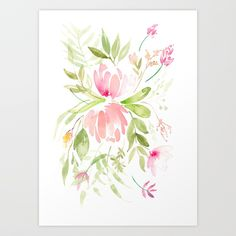 Buy Bouquet of Proteas and fynbos Art Print by susanbrand. Worldwide shipping available at Society6.com. Just one of millions of high quality products available.