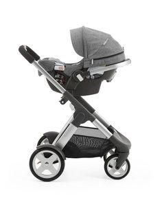 The perfect travel system for your newborn baby. Our ALL NEW Stokke PIPA infant car seat by Nuna fits *all* Stokke strollers without the use of separate adaptors. Available July 2015 in USA only w/ preorders June 2015