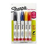 Sharpie Oil-Based Paint Markers Medium Point Assorted Colors 5-Count  List Price: $16.99  Deal Price: $9.65  You Save: $7.34 (43%)  Sharpie Oil-Based Markers Assorted 5-Count  Expires Jan 11 2018