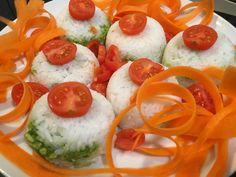 Onigiri à l'avocat (Vegan Sans Gluten, Caprese Salad, Vegan, Food, Dinner, Lawyer, Recipe, Meals, Yemek