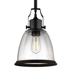 Feiss - P1355 - Hobson - 14.13 Inch One Light Pendant
