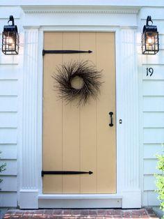 Storm door front door