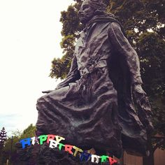 Father Marquette recently celebrated his 375th birthday, and he's still exploring: http://twitter.com/FatherMarquette