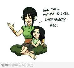 I like Toph because it sounds like Tough