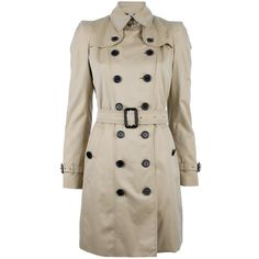 BURBERRY LONDON classic trench coat ($1,630) ❤ liked on Polyvore