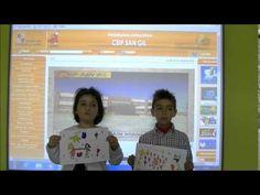 Poesía de Gloria Fuertes. Sandra y Marcos, alumnos de 1º de Ed. Primaria del CEIP San Gil (Cuéllar. Segovia)