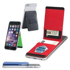 Cell Mate Smartphone Wallet & Stand - Bifold