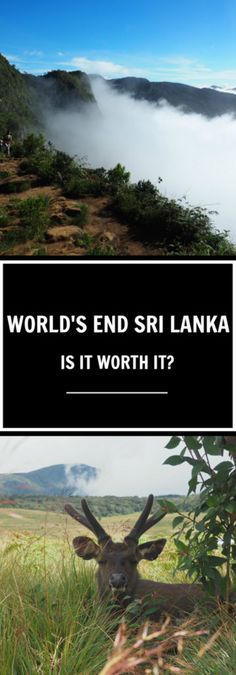 Is it worth visiting World's End in Sri Lanka?