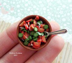 Миниатюрный салат от Pavlysha на Etsy