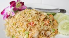 Healthy Shrimp Fried Rice! Hard To Believe It's Possible, But This Recipe Is Delicious!