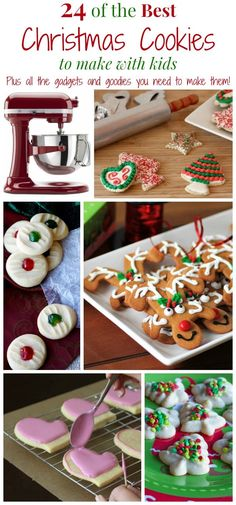 24 of The Best Christmas Cookies to Make with Kids PLUS All of the Kitchen Gadgets and Goodies You Need to Make Them | cupcakesandkalechips.com | #eBayguides #CleverGuides #ad