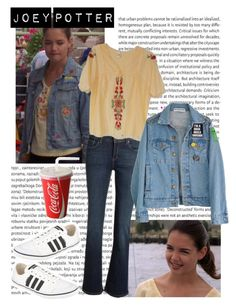 Joey Potter - Outfit Inspiration - Season 3 by vilena-ferreira on Polyvore featuring moda, adidas and Oris