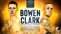 Bowen fires verbal shots at Woodstock Frank Warren, Sports Fights, Bt Sport, Fight Night, Night Live, Boxing News, Leicester, Woodstock, British