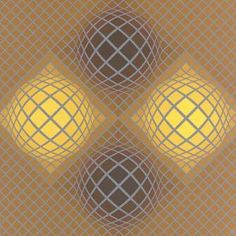 Olla - (Victor Vasarely)  More Pins Like This At FOSTERGINGER @ Pinterest
