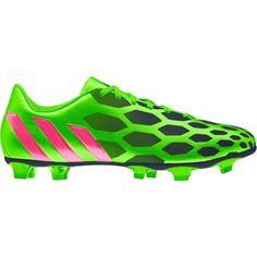 adidas Women s Predito Instinct FG Soccer Cleat - Green Pink  a919f2aa1e3f3