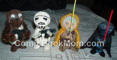 Star Wars Sea Shell Figures