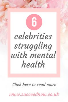 6 Celebrities Struggling With Mental Health - Succeed Now Types Of Mental Health, Mental Health Quotes, Mental Health Problems, Mental Health Awareness, Social Anxiety Treatment, Social Anxiety Symptoms, Anxiety Tips, Anxiety Help