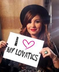 And lovatics love you Demi <3