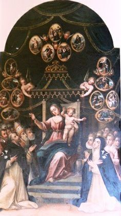 Madonna del Rosario, Gian Domenico Catalano, 1615 ca., Casarano, Chiesa Parrocchiale