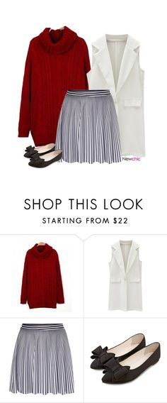 """Newchic style #1"" by blueeyed-dreamer ❤ liked on Polyvore featuring newchic"