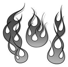 Flame Stencil