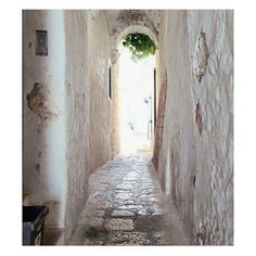 PERFECT PATH || Beautifully arched walkway in Ostuni, Italy... #Italy #Luxury #Design #Architecture #Inspiration