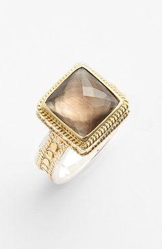 crushing on this smokey quartz ring