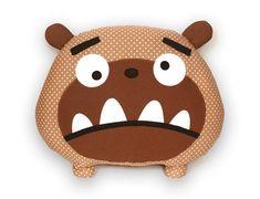 Bruno the dog pattern - Big plush toy pattern pillow pdf