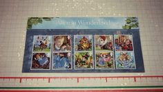 UK Royal Mail - Stamps Special Edition 2015 - Alice in Wonderland <3