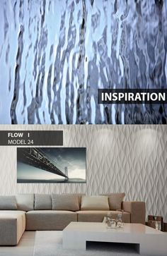 Flow - model 24 - Inspiration. Click at the photo to get more information or to visit our website. #LoftDesignSystem #loftsystem #Decorativepanels #Inspiration #Interior #Design #wallpanels #3Ddecorativepanels #3dpanels #3dwallpanels #house #home #homedesign #Decorations #homedecorations #meringue #bedroom #salon #livingroom #Flow #water