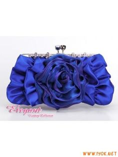 Blue Evening Bags Clutch