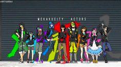 Mekakucity Actors | Kagerou Project gif