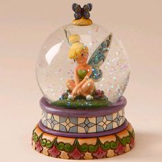 tinkerbell waterball- Disney traditions by Jim Shore....my daughter has a lot of Disney globes
