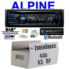Pioneer 1din usb mp3 AUX In CD autoradio pour AUDI a2 a3 8 L a6 c5 a4 b5 Bose aktivsy
