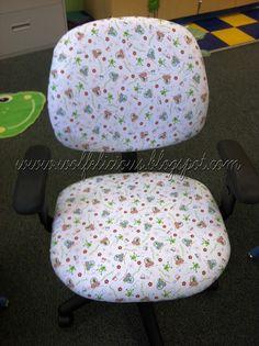 Wolfelicious: Chair Cover Tutorial