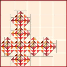 Resplendent Sew A Block Quilt Ideas. Magnificent Sew A Block Quilt Ideas. Half Square Triangle Quilts Pattern, Square Quilt, Quilting Projects, Quilting Designs, Quilting Ideas, Modern Quilting, Longarm Quilting, Quilting Tutorials, Sewing Projects