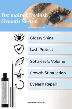 The dream of having the perfect eyelashes has finally been realized even without the use of extensions. DermalMD's serum is one of the most effective serum around. DermalMD's serum grows ultra-lush eyelashes as guaranteed with healthful ingredients to safeguard the eyelash from external irritants to keep them from breakage. Perfect Eyelashes, How To Grow Eyelashes, Natural Eyelashes, Eyelash Growth Serum, Rosacea, Chemist, Fragrance, Lush, Extensions