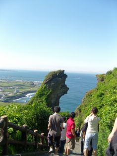 Seongsan Ilchulbong, South Korea Jeju Island in 2011
