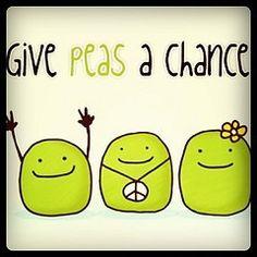 Give peas a chance. Hippie Love, Hippie Vibes, Hippie Chick, Hippie Art, Make Me Happy, Make Me Smile, Give Peas A Chance, Peace Fingers, Peace And Love