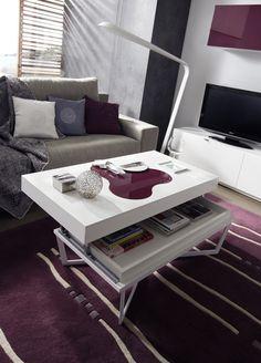 No son sólo mesas de centro, en nuestro salón Kazzano Moving son algo más ^-^